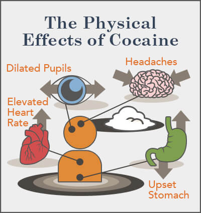 the physical effects of cocaine