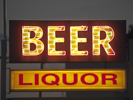 Beer and Liquor