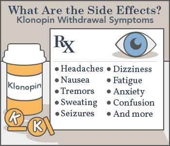 klonopin withdrawal symptoms clonazepam