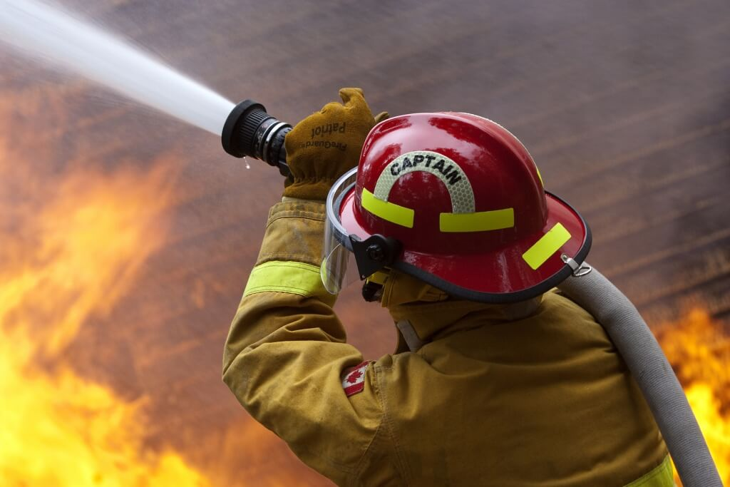 active firefighters and first responders