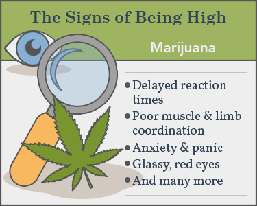 signs of marijuana use
