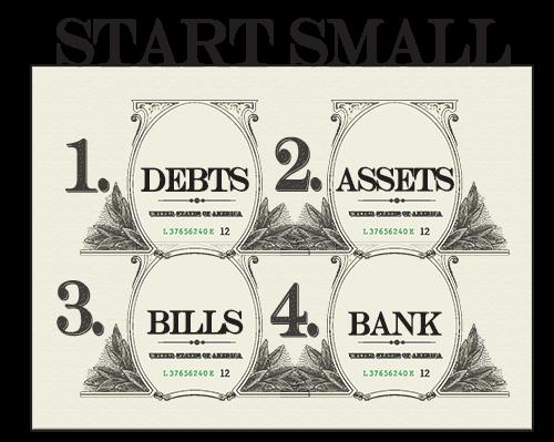 financial management start small